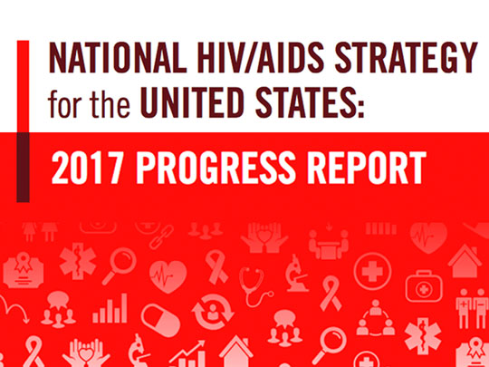 National HIV/AIDS Strategy for the United States: 2017 Progress Report