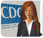 CDC's second life avatar
