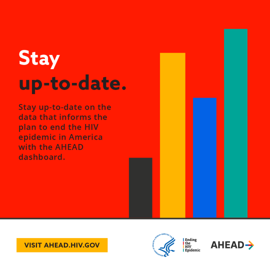 Stay up-to-date on the data that informs the plan to end the HIV epidemic in America with the AHEAD dashboard.
