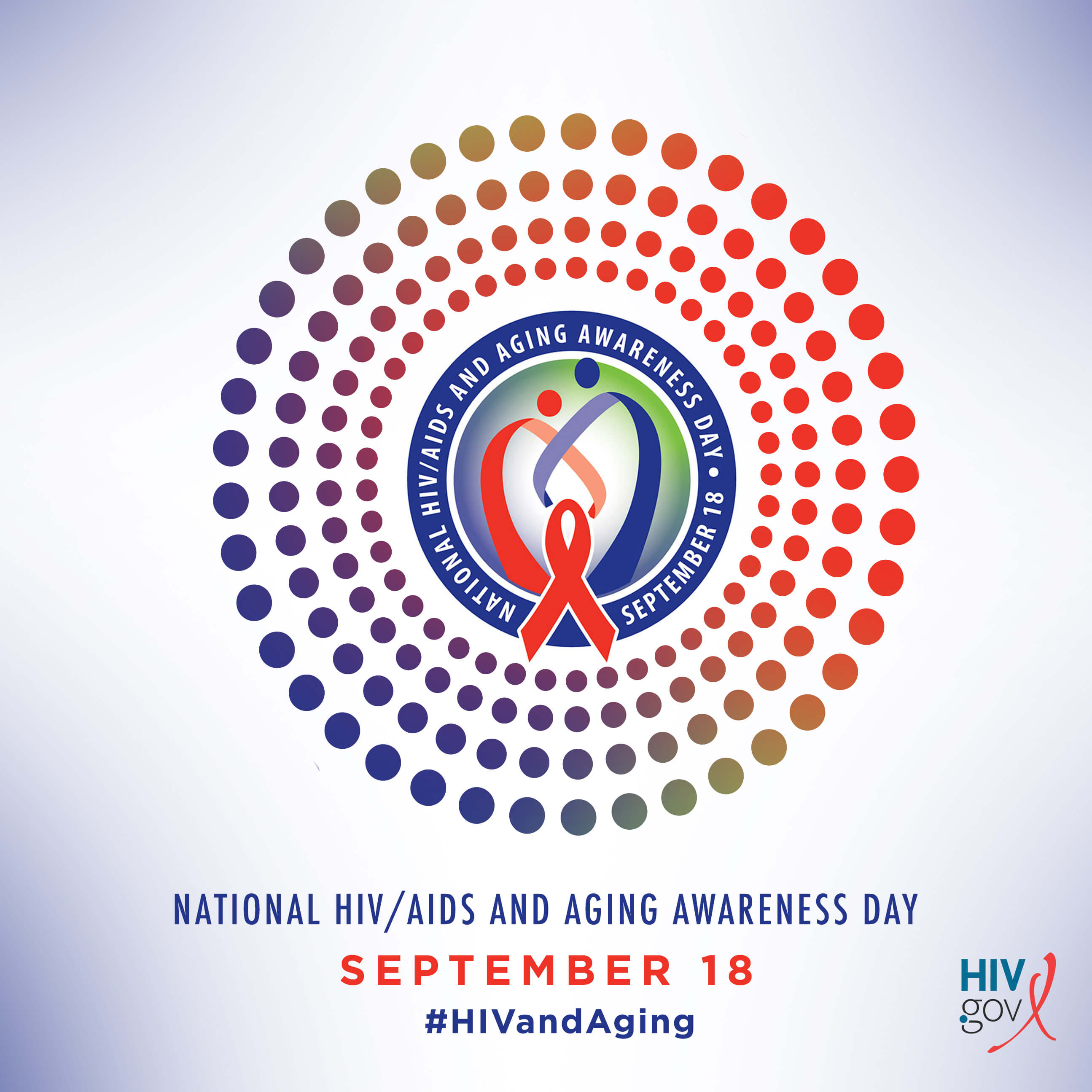 National HIV/AIDS and Aging Awareness Day, September 18. #HIVandAging