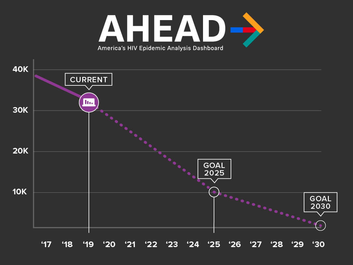 Graph projecting goal reduction of HIV