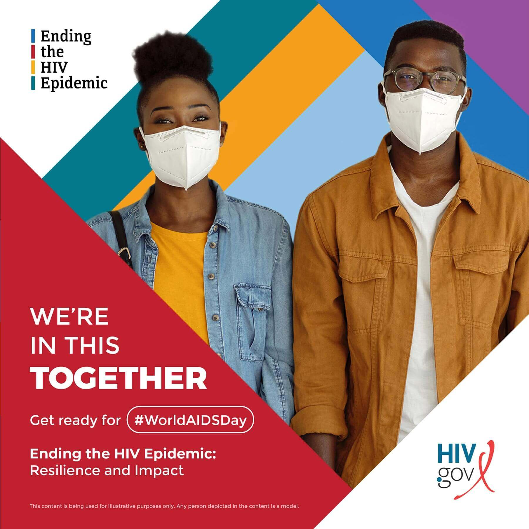 Ending the HIV Epidemic World AIDS Day Social Week