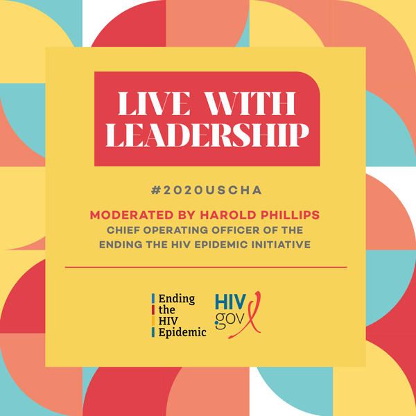 Live with Leadership. Moderated by Harold Phillips. USCHA 2020.