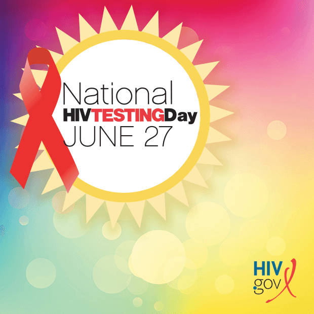 National HIV Testing Day, June 27
