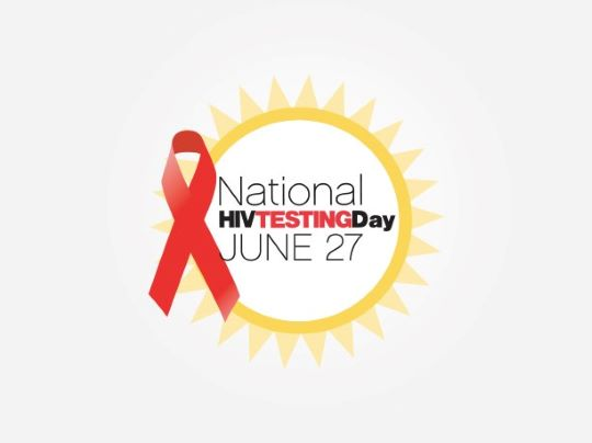National HIV Testing Day. June 27th
