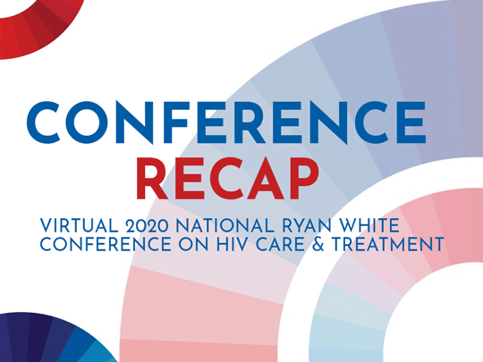 Conference Recap. Virtual l2020 National Ryan White Conference on HIV Care & Treatment