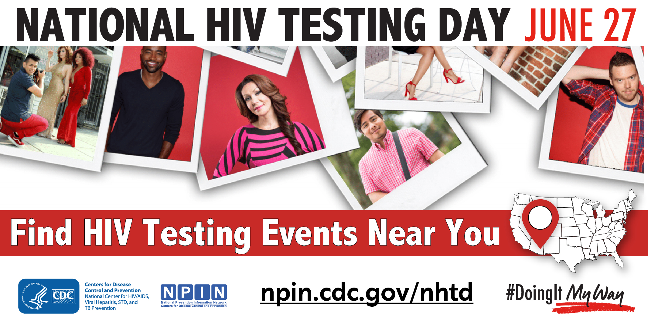 National HIV Testing Day June 27. Find HIV Testing Events Near You.