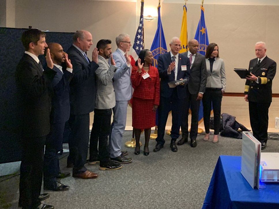 Members of the President's Advisory Council on HIV/AID were sworn in on March 14.