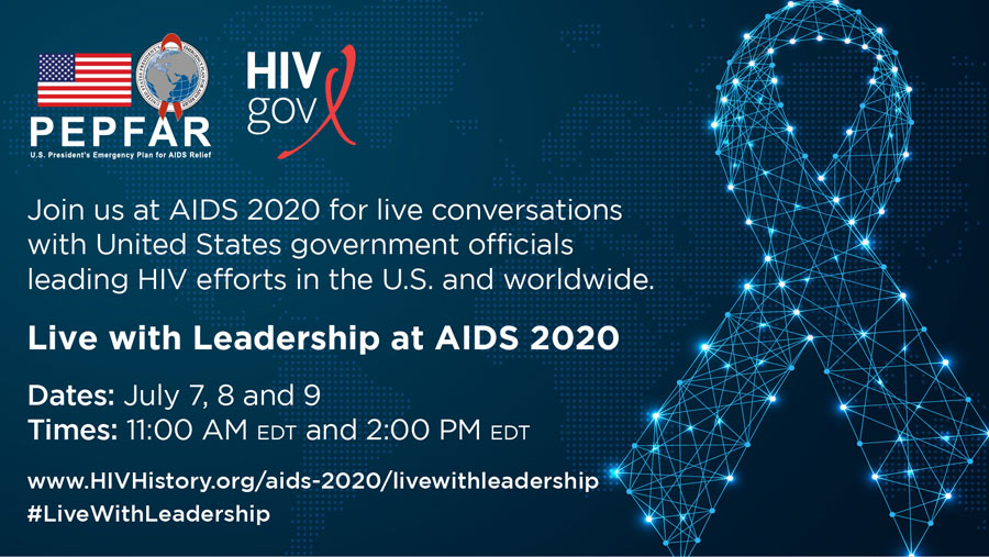 Watch Ending the HIV Epidemic HHS Leaders @ AIDS 2020 – Conversations