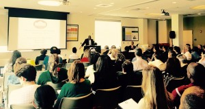 Douglas Brooks, Director, Office of National AIDS Policy receives input from stakeholders on updating NHAS. Boston Regional Forum, May 8, 2015