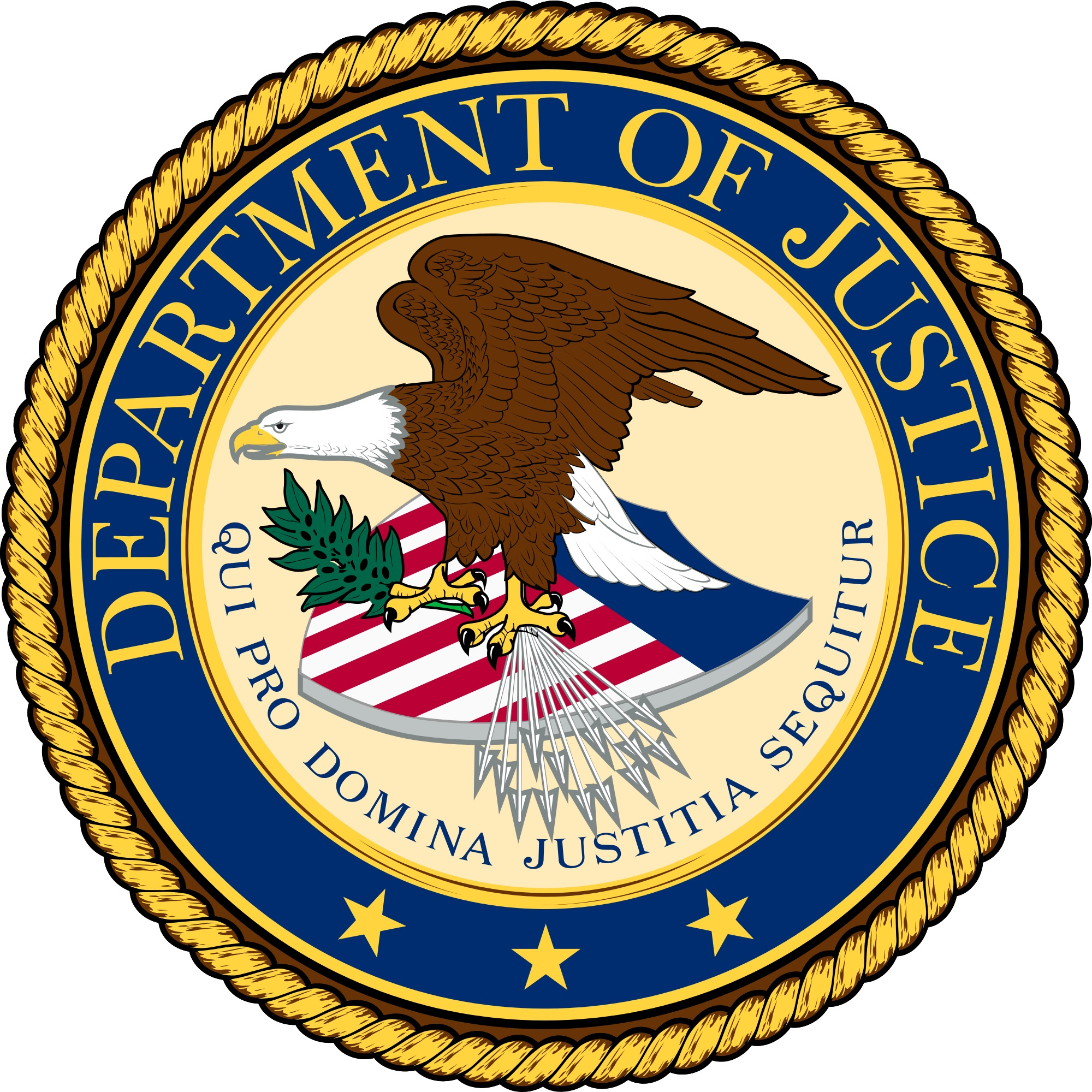 Seal of the U.S. Department of Justice