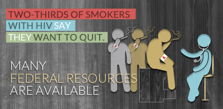 Two-thirds smokers with HIV want to quit