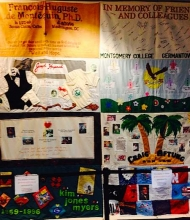 NIDA displays panels from the AIDS Memorial Quilt