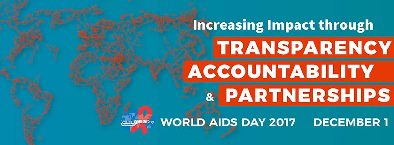 world aids day banner