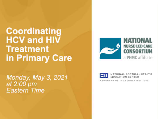 Coordinating HCV and HIV Treatment in Primary Care.
