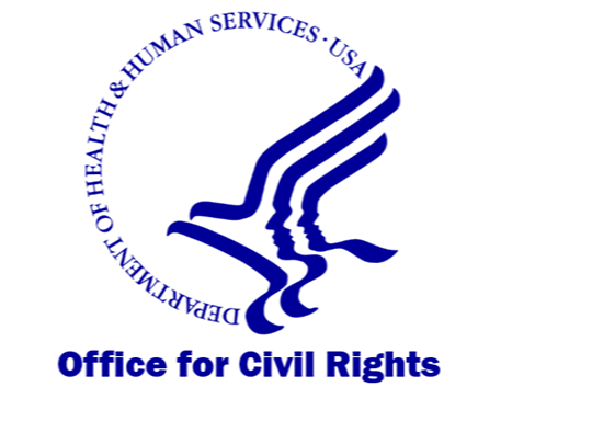 Logo for Office for Civil Rights, Health and Human Serivces
