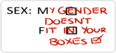 SEX: My gender doesn't fit into your boxes
