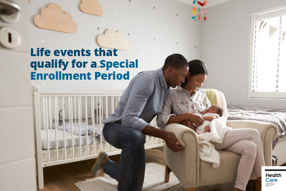 Life events that qualify for a special Enrollment Period