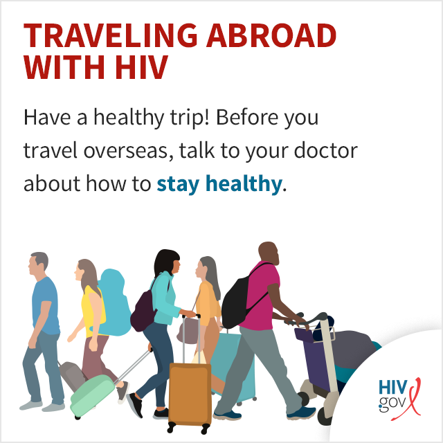 Have a healthy trip! Before you travel overseas, talk to your doctor about how to stay healthy.