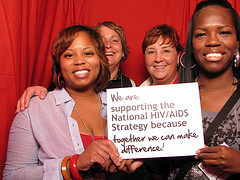 Women supporting the National HIV/AIDS Strategy
