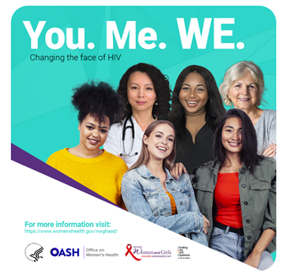 You. Me. WE. Changing the face of HIV.